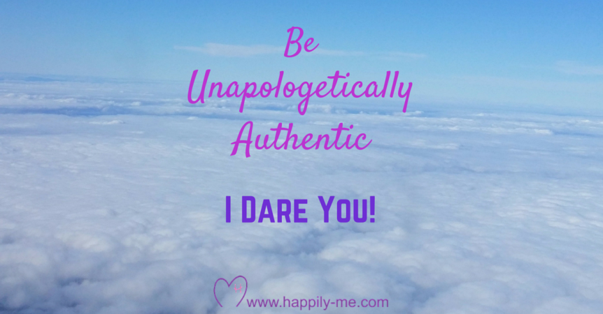 Unapologetically authentic